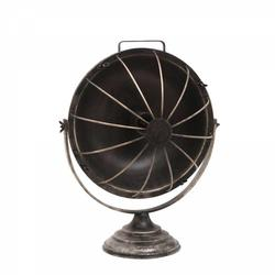 "Rund ""ventilator"" bordlampe"