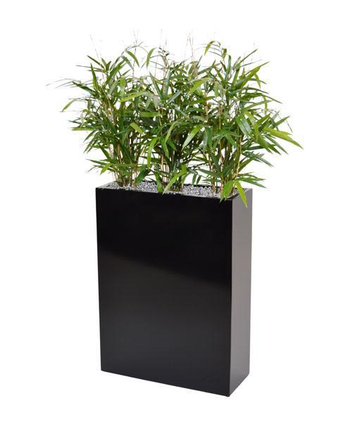 bambus i krukker Køb Sort Krukke Med Kunstig Bambus   Kunstige Planter bambus i krukker