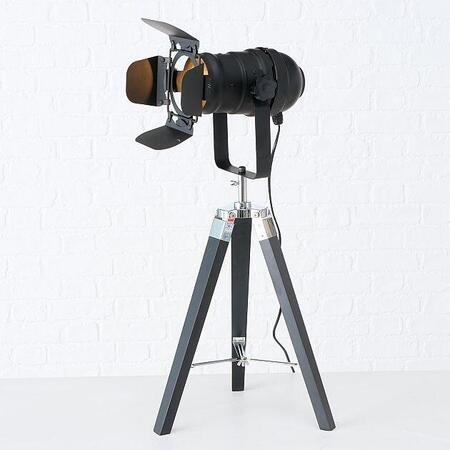 Movie tripod bordlampe - 70cm